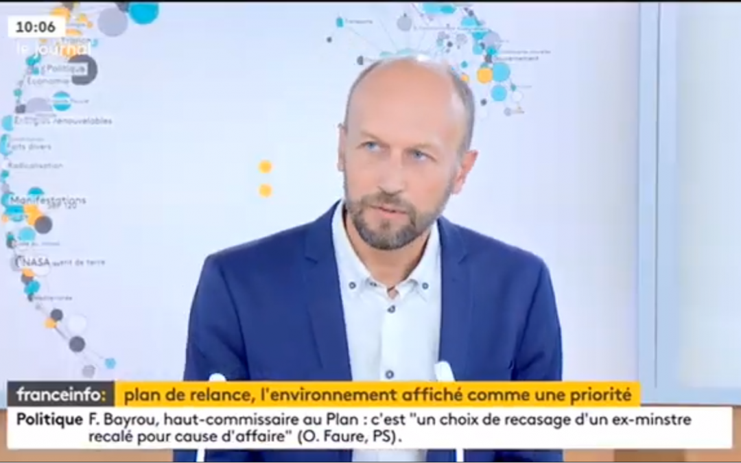 Rénovation performante sur France Info TV